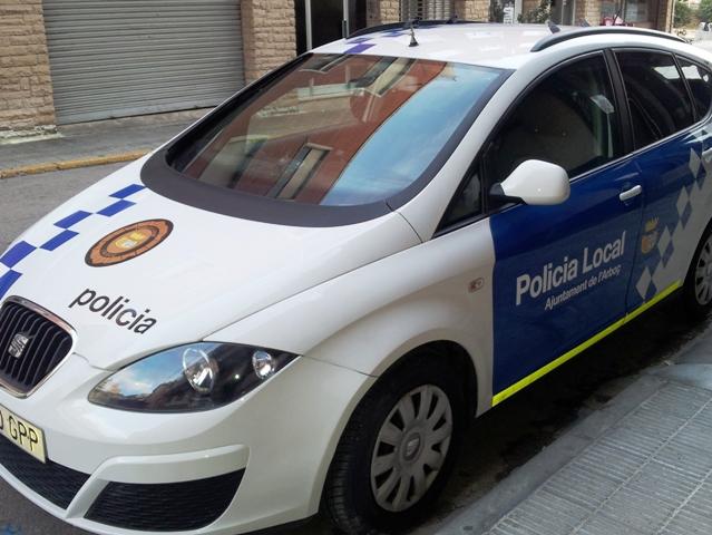 Cotxe Policia-RètolsDigimp