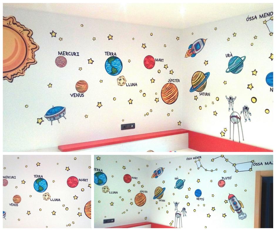 Planetari habitació infantil
